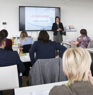 Referierte über Regionale Gesundheitsnetzwerke: Rita Börste aus Würzburg